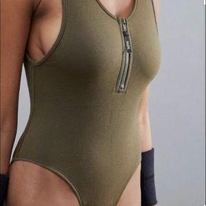 MinkPink cotton bodysuit